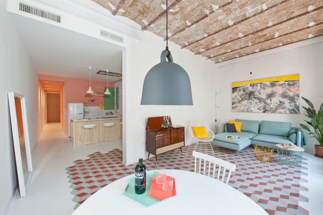 Licht appartement inspiratie in barcelona   gimmii