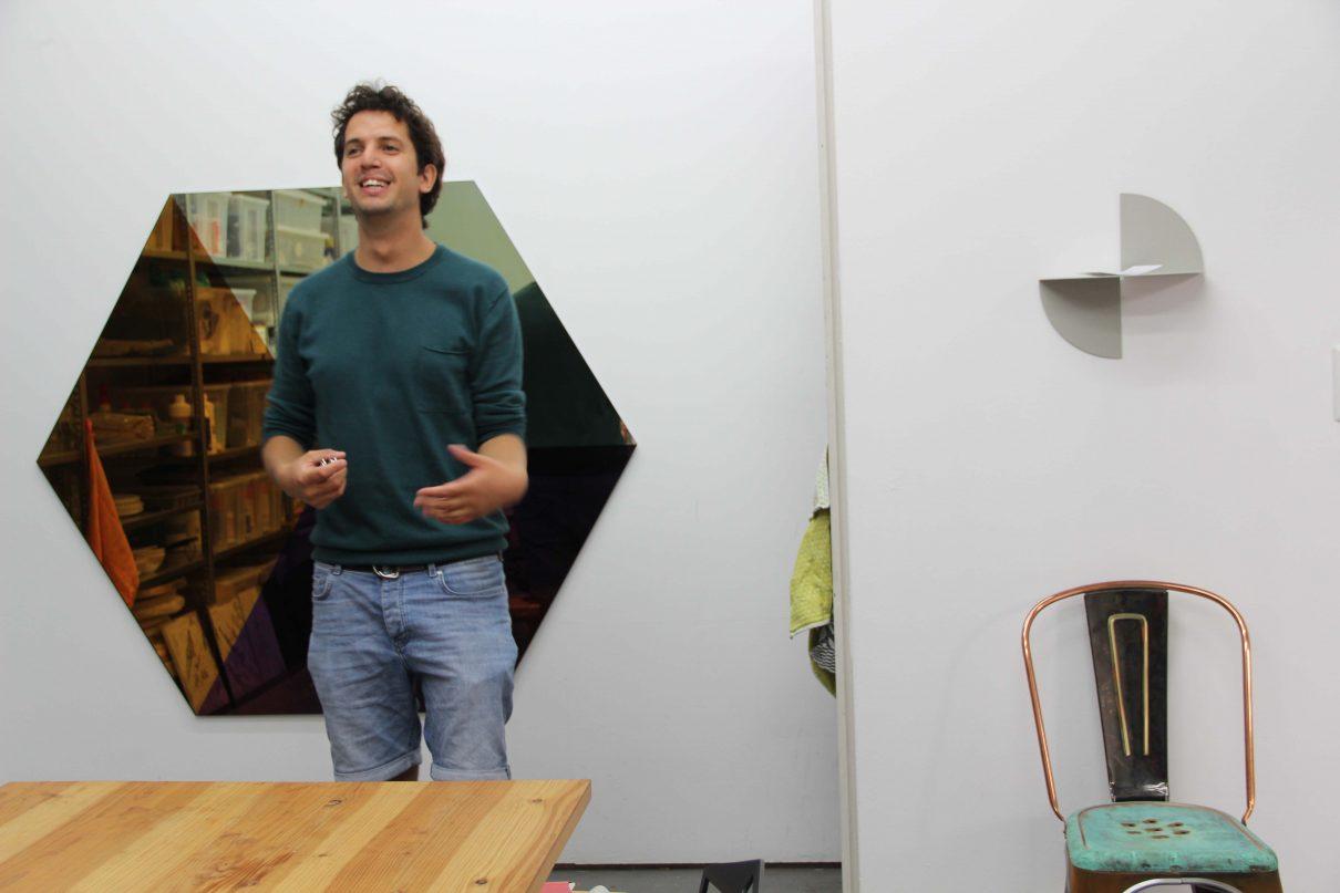 Op bezoek in de studio van Lex Pott