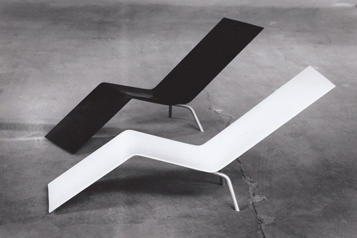 Sober en luxe; Maarten van Severen loungechair