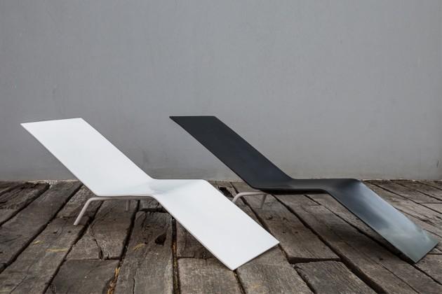 MVS CHL95 ligstoel Maarten van Severen Lensvelt Salone del Mobile Milan 2014 installation by OMA