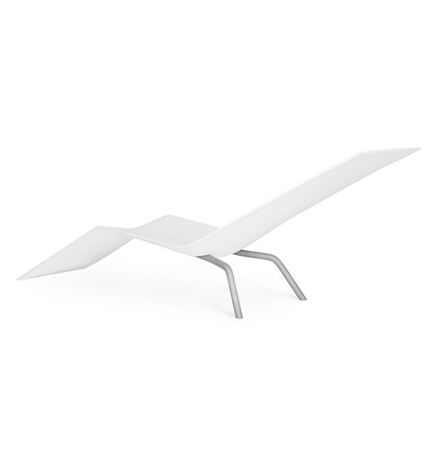 MVS CHL95 ligstoel wit Maarten van Severen Lensvelt - Gimmii
