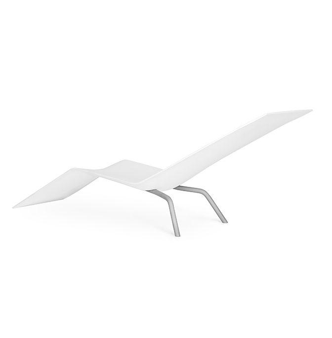 MVS CHL95 ligstoel wit Maarten van Severen Lensvelt – Gimmii