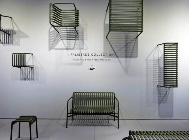 Palissade Collection at Maison & Objet 2015 Hay Bouroullec - photo Marc Van der Voorn - Gimmii