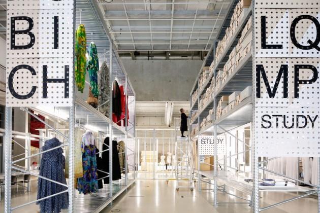 Tijdelijk modemuseum en Studio Makkink&Bey Photo by Johannes Schwartz -1