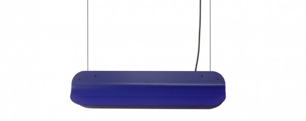Long Shade hanglamp LED40 -RAL5022 nightblue Vij5