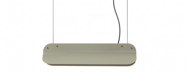 Long Shade hanglamp LED400 RAL7003 mosgrey Vij5 - Gimmii