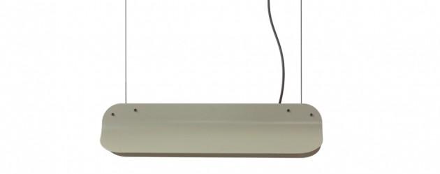 Long Shade hanglamp LED400 RAL7003 mosgrey Vij5 - Gimmii