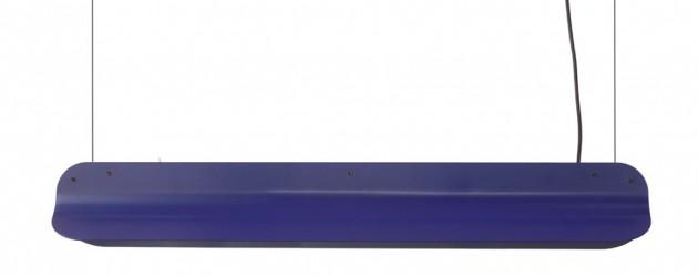 Long Shade pendant LED800 RAL5022 nightblue Daphna Laurens Vij5 - Gimmii