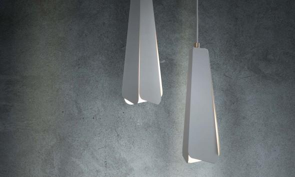 Oato: Invert hanglamp en Scape vaasjes set - Gimmii