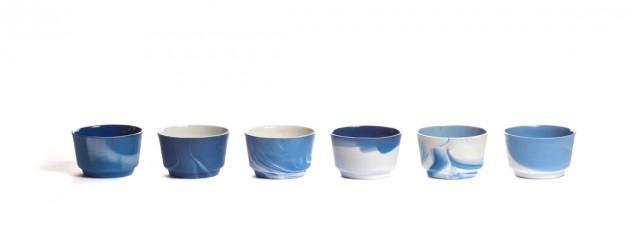 Pigments & Porcelain cappuccino cobalt Vij5 - Gimmii
