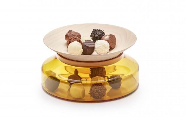 Presentation Platter Novecento ontwerpduo bowls bonbons - Gimmii