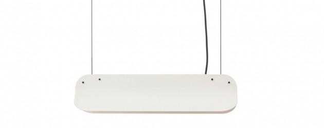 Vij5 samen met Daphna Laurens: Long Shade hanglamp LED400 RAL9002 greywhite