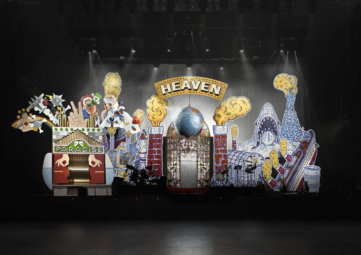 Studio Job Stage set design for Mika