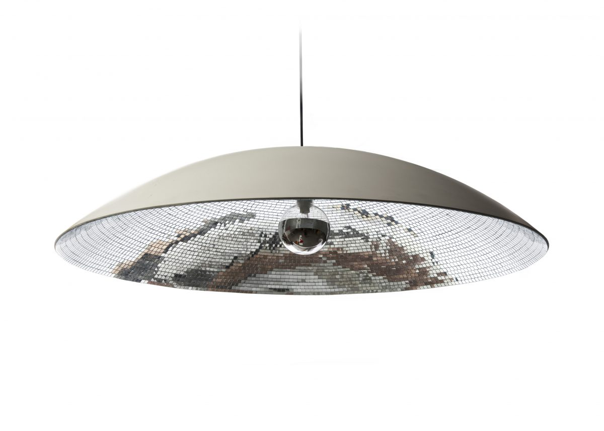 Disco dish hanglamp