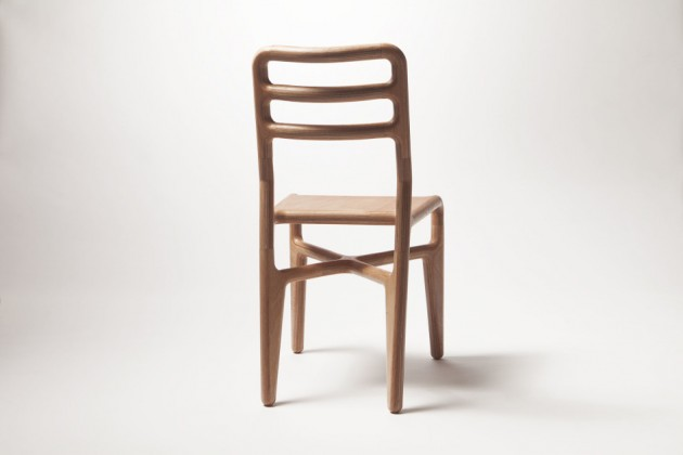 Stoel Studio Roex Streamlined table chair - Gimmii