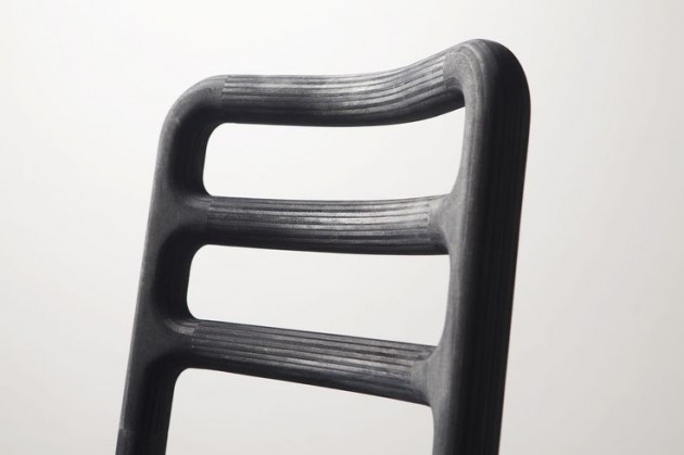 Streamlined chair antracite Studio Roex - Gimmii