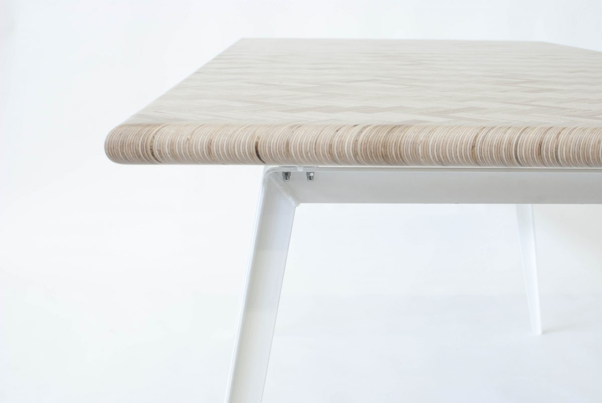 Eettafel Constructed Surface Table by Rick Tegelaar – Gimmii