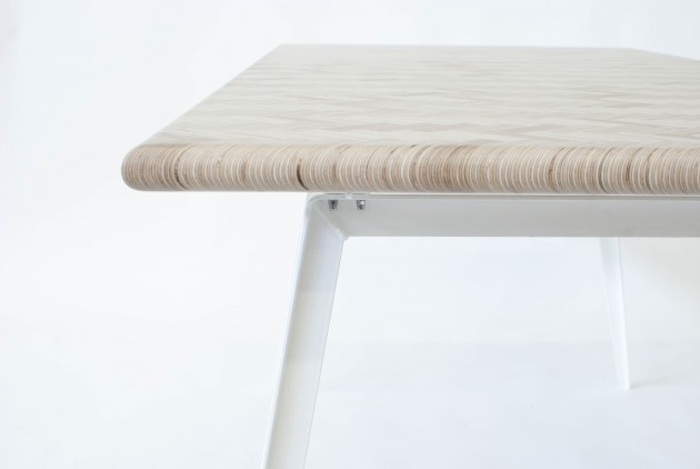 Eettafel Constructed Surface Table by Rick Tegelaar - Gimmii