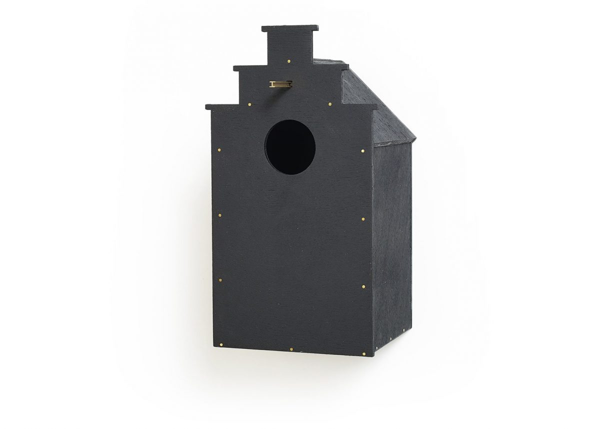 Canal birdhouse trapgevel