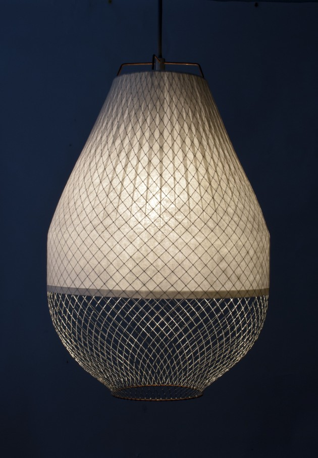 Open Meshmatics lamp on by Atelier Rick Tegelaar - Gimmii