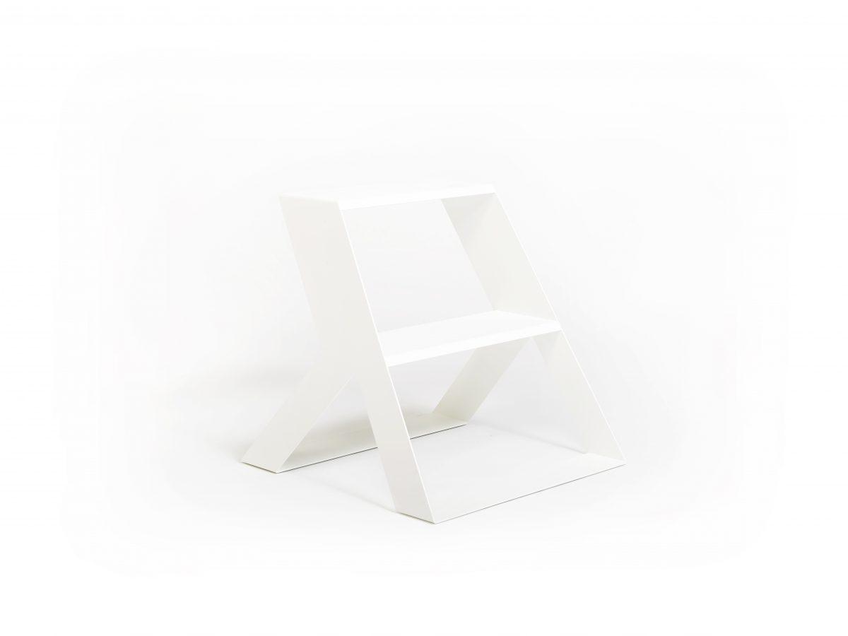 Opstapje SPLIT STEP BASIC white Frederik Roije – Gimmii