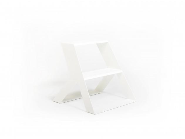 Opstapje SPLIT STEP BASIC white Frederik Roije - Gimmii