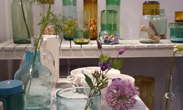 Cantel vaas glas Van Eijk Van der Lubbe Imperfect Design Maison & Objet Parijs - Gimmii
