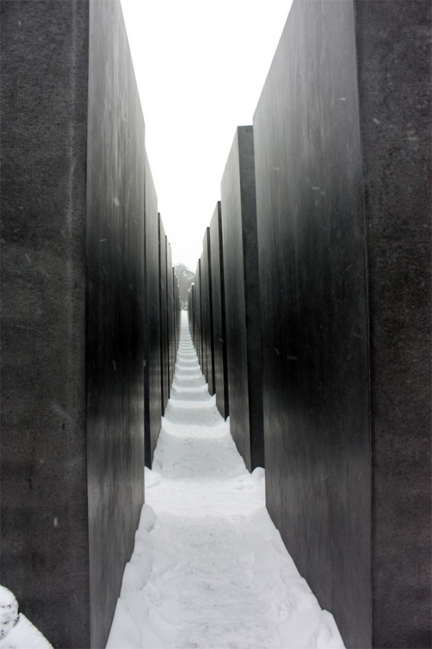 Holocaustmonument en informatiecentrum Peter Eisenman (7)
