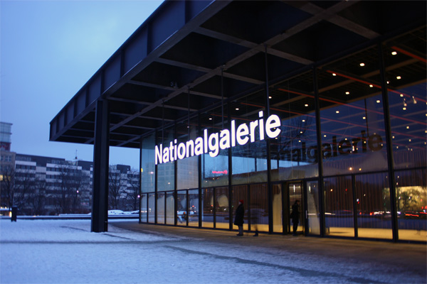 Neue nationalgalerie photo Janita Stoel - Gimmii