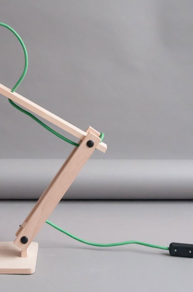 Pixoss terracotta bureaulamp M.OSS design
