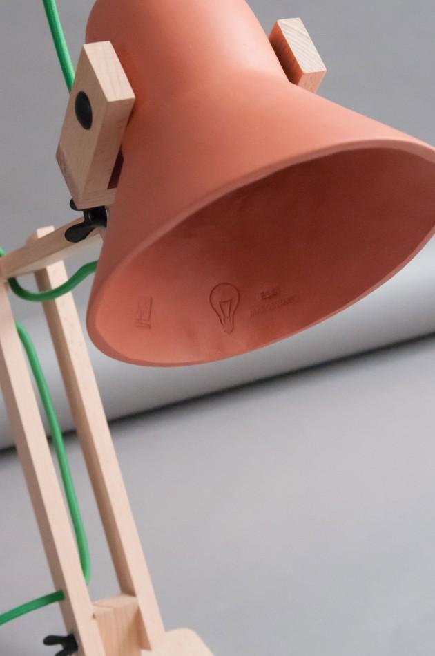 Pixoss terracotta lamp inside M.OSS design - Gimmii