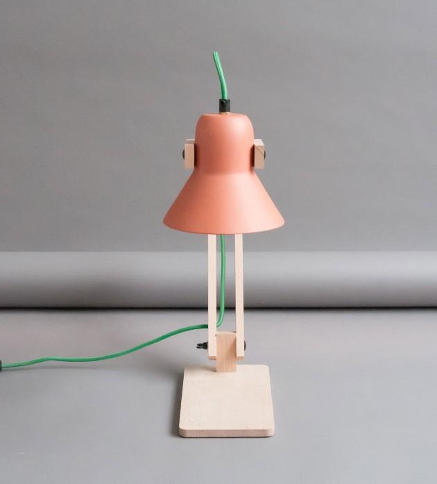 Pixoss terracotta tafellamp M.OSS design - Gimmii shop