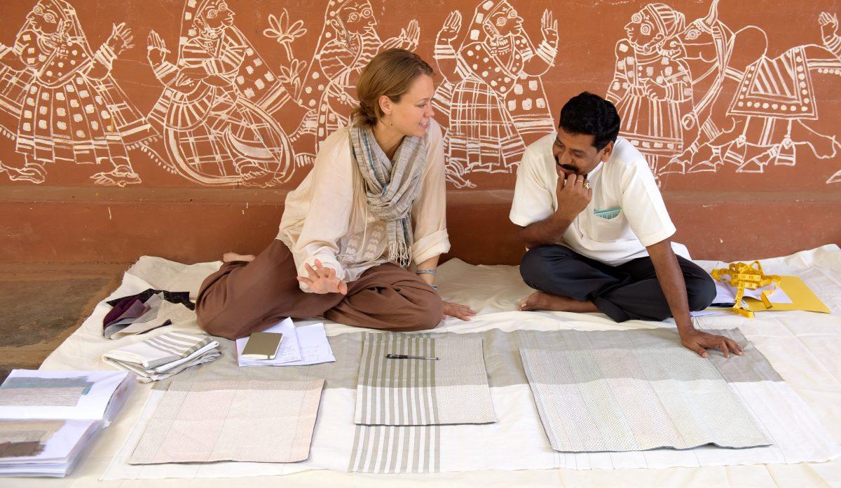 Jolijn Fiddelaers Fibonacci fabrics fairtrade India Vij5 – Gimmii