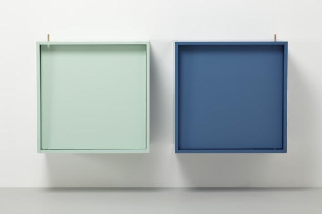 Tumble kast blauw groen Vij5 - Gimmiishop