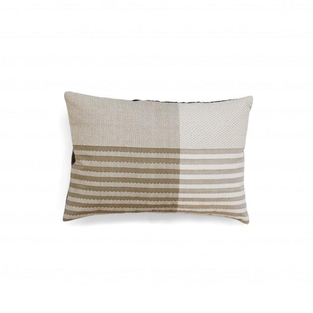 Vij5 Fibonacci kussen cushion 40x40cm beige-JolijnFiddelaers - Gimmii
