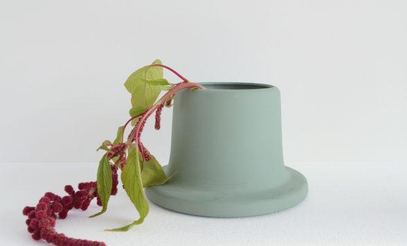 Flange vase Wide