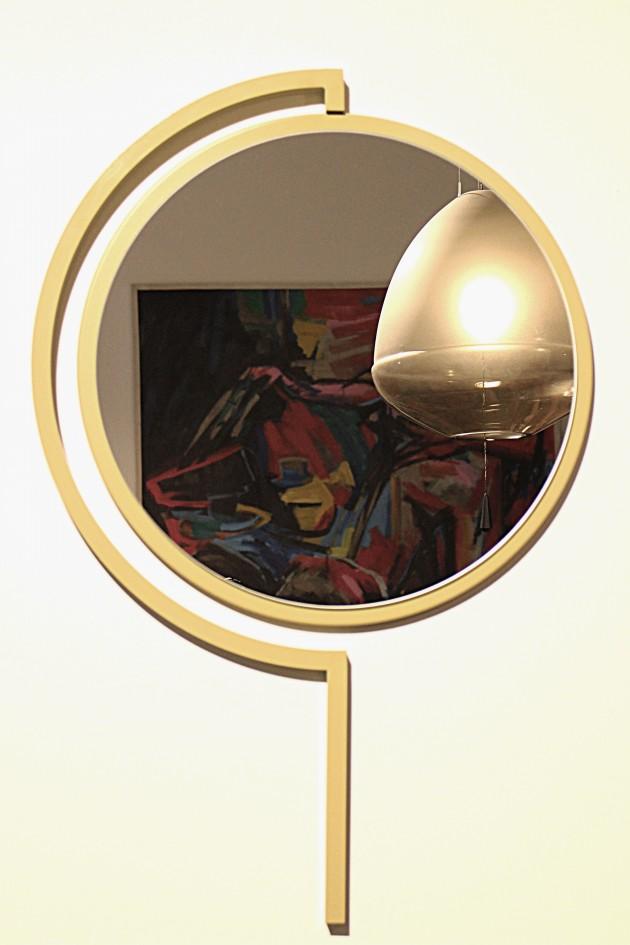 Contorno Mirror Olive Yellow-JolandaVanGoor - Gimmii