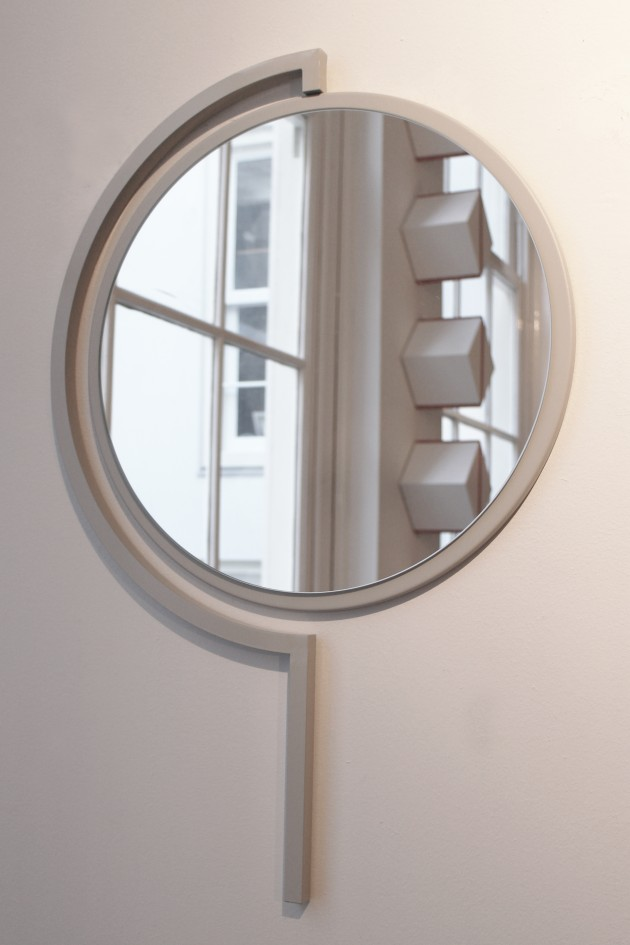 Contorno Mirror Silk Grey-spiegel-JolandaVanGoor - Gimmii