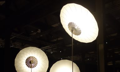 Filigree floorlamp van Rick Tegelaar voor Moooi