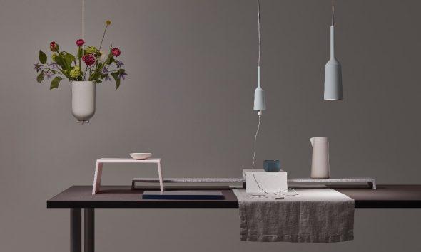 Lotte Douwes table-landscape-lamp&socket-spatialvase-tabletalks-Milan-gimmii