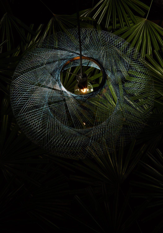Iridescent hanglamp Atelier robotiq – gimmii