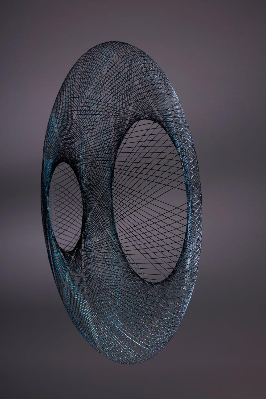 atelier robotiq Iridescent hanglamp geinspireerd op vlinders en libellen