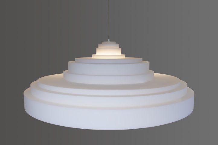 Ornaments akoestische lamp