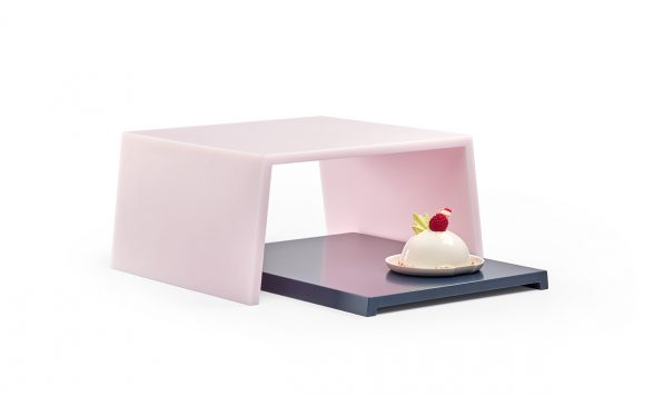 Table Landscapes plateau 1 (roze)