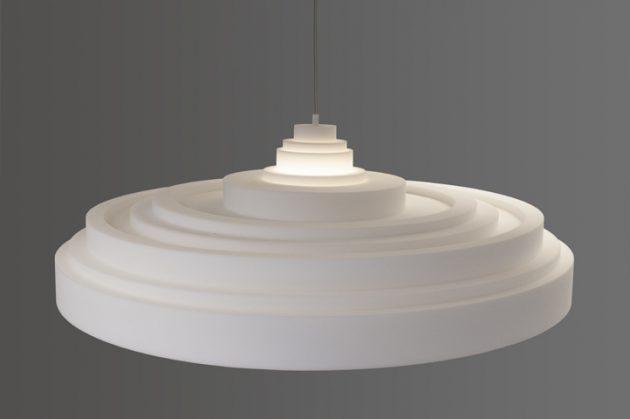 Knap Ontwerp & Post Acoustics plafonniere en hanglamp - gimmii
