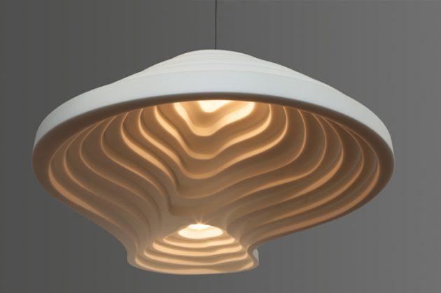 Ricefield double lamp geluidsabsosberend Knap Ontwerp Amsterdam