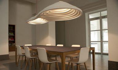 Akoestische lampen helpen