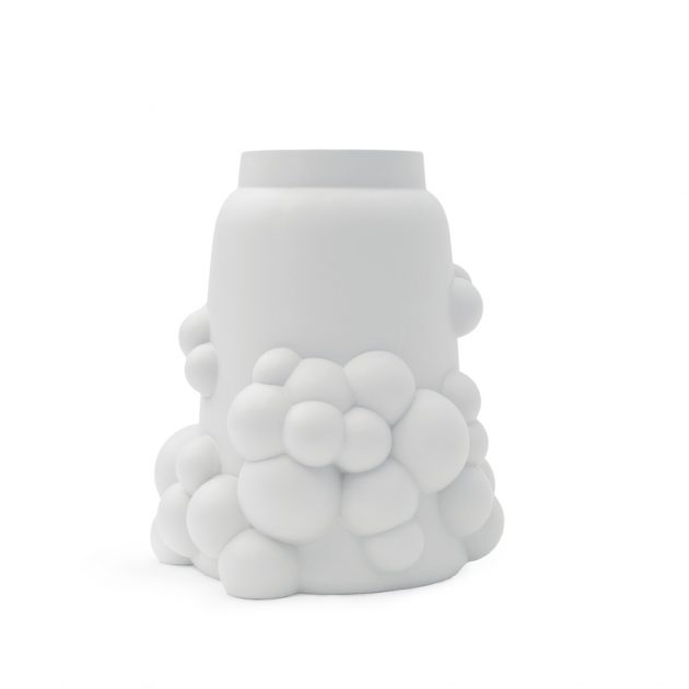 Bubble grote vaas wit-BubbleVaseLarge-white-ceramics-JORINEOosterhoff-CorUnum - gimmii