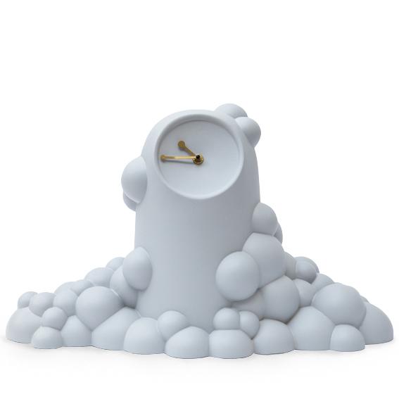Bubble klok grijs-JorineOosterhoff - gimmiishop