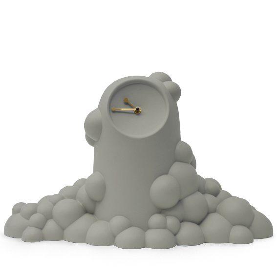 Bubble klok grijsgroen-JorineOosterhoff-dutchdesign-gimmiishop